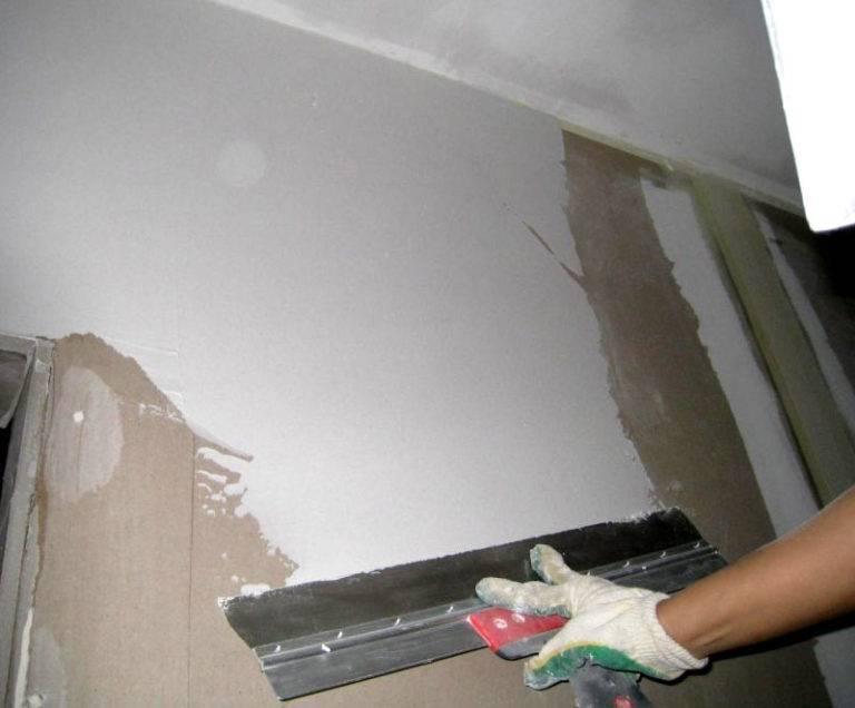 Подробная инструкция для оштукатуривания стен и потолка под покраску