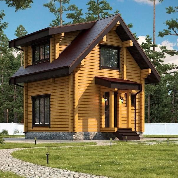 Двухэтажные дома (90 фото): проекты и идеи
