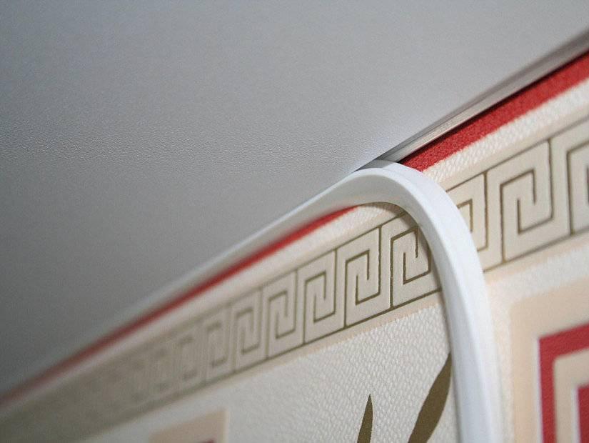 Декоративные шнуры для натяжных потолков (23 фото): окантовка канатом, отделка кантиком, потолочный кант