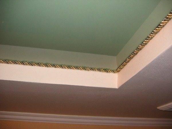 Маскировочная лента для натяжных потолков | формы. установка