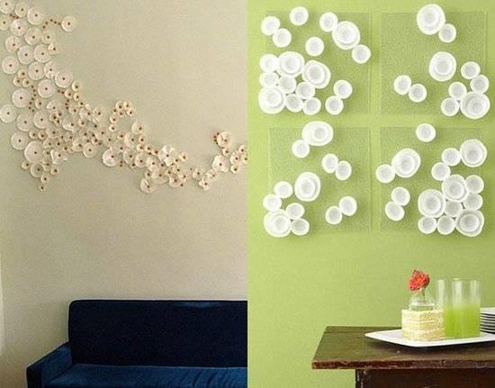 Как украсить стену своими руками +115 фото идей