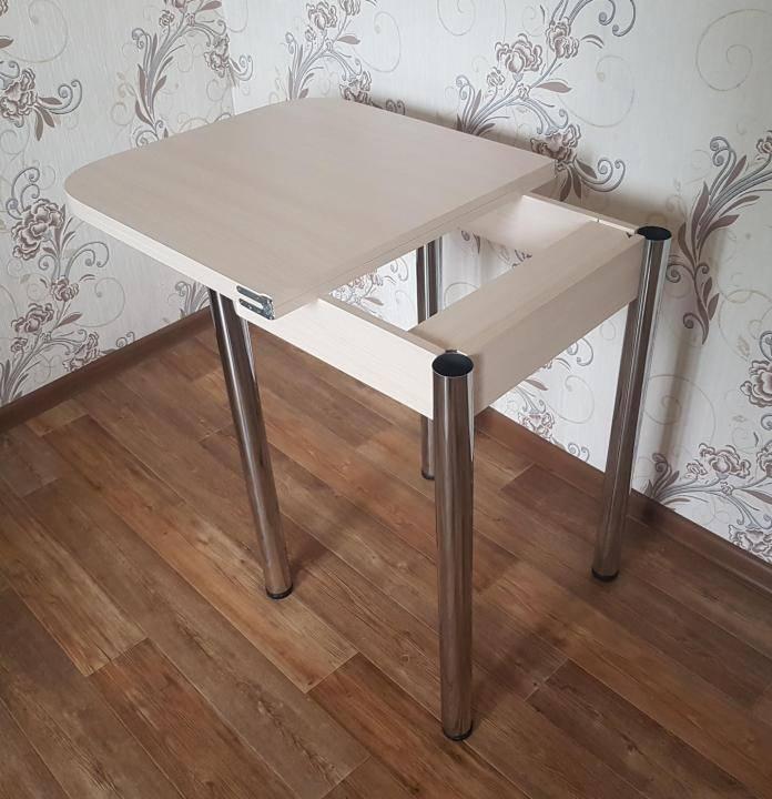 Стол кухонный раскладной, материалы изготовления и нюансы выбора
