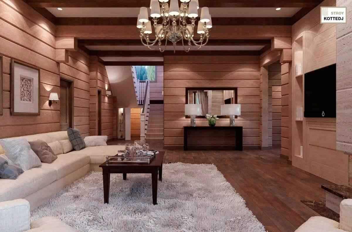 Интерьер дома из бруса внутри: фото в современном стиле интерьер дома из бруса внутри: фото в современном стиле