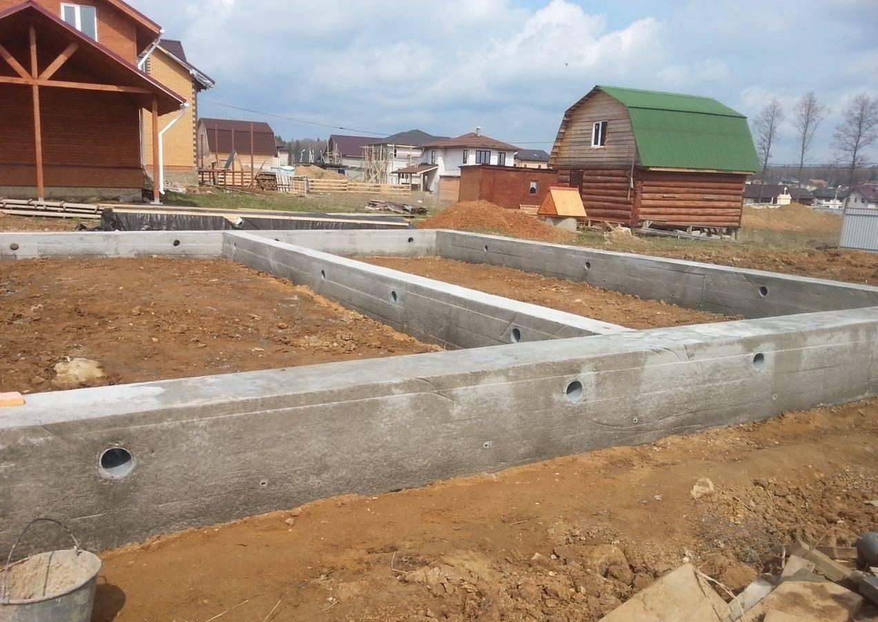Виды и типы фундаментов для частного дома
