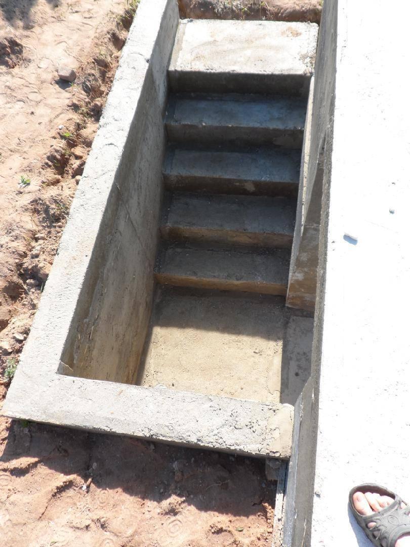 Устройство погреба в доме с ленточным фундаментом