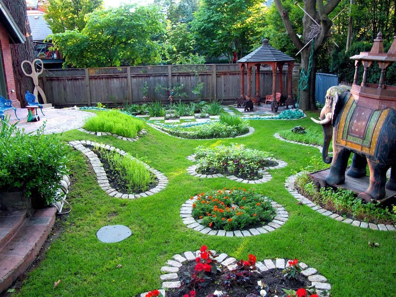 Украшение участка: обустройство своими руками дачного, садового и приусадебного участка