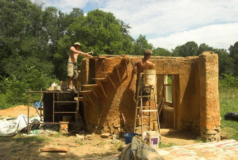 Саманный дом своими руками - строим дом из самана | стройсоветы