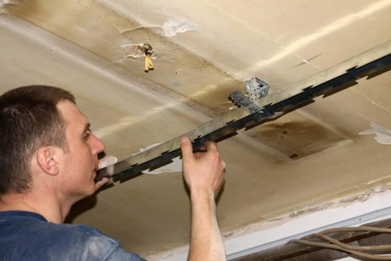Как разобрать реечный потолок |potolkyy.ru