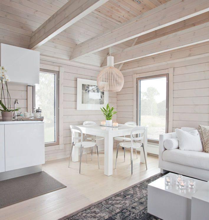 Особенности покраски деревянного дома