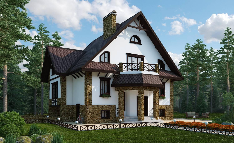 Постройка двухэтажного дома из газобетонных блоков