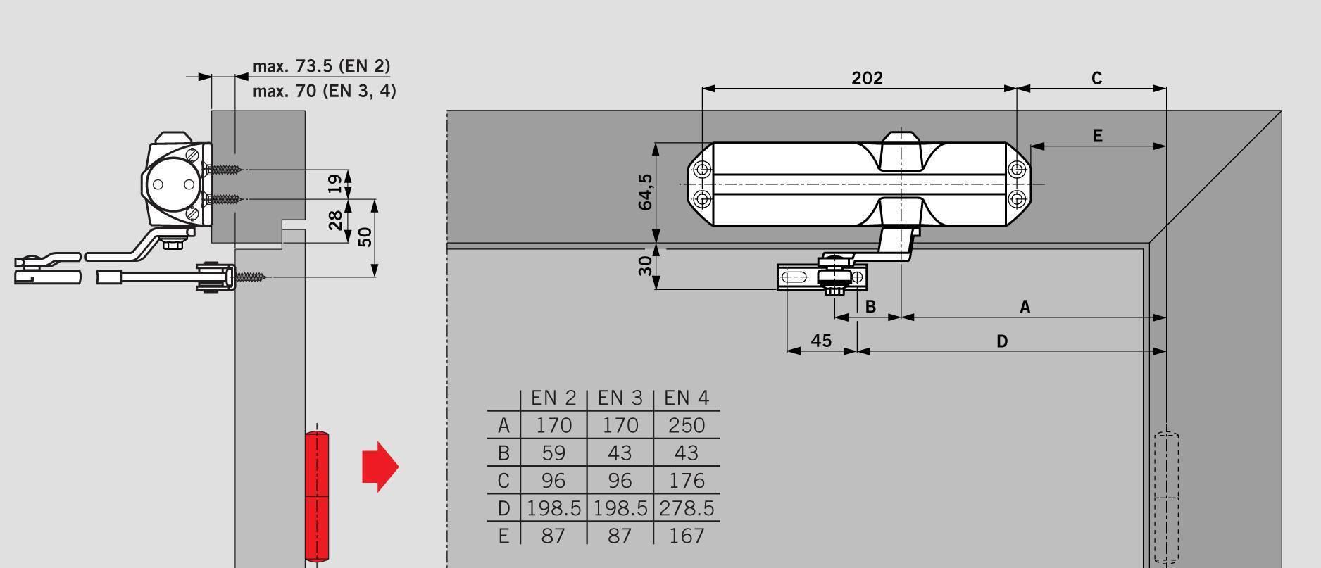 Самостоятельная установка и регулировка дверного доводчика