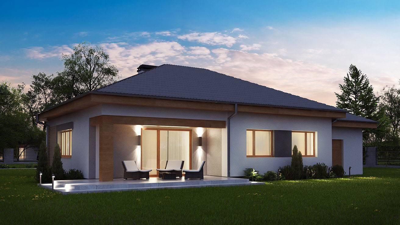Одноэтажные дома: топ-120 фото эксклюзивных проектов в современном стиле