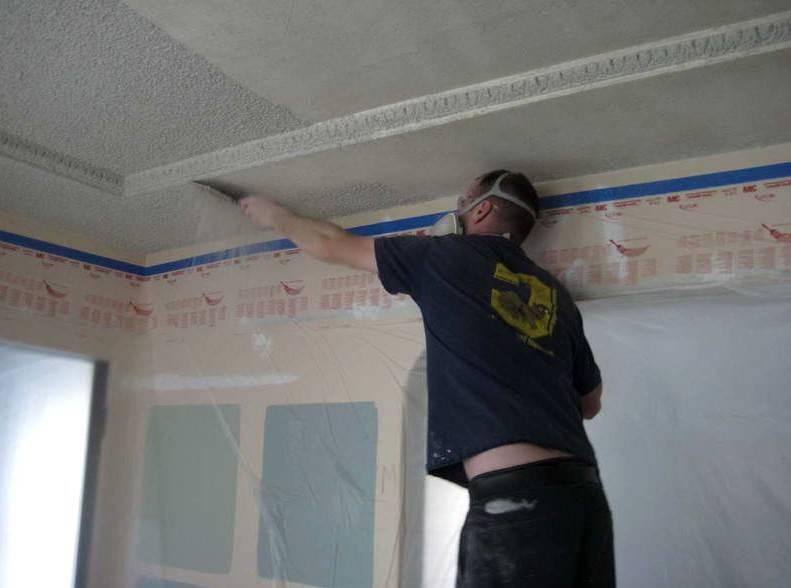 Шпаклевка потолка из гипсокартона под покраску – этапы работ своими руками, материалы
