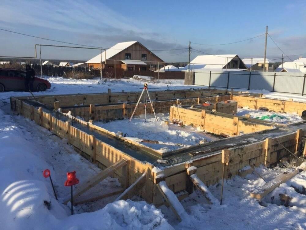 Можно ли оставить фундамент на зиму