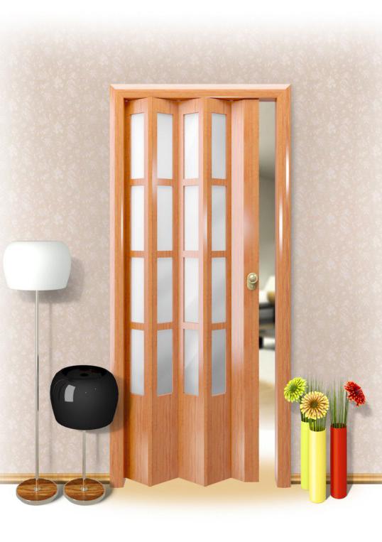 Как собирается дверь гармошка - клуб мастеров