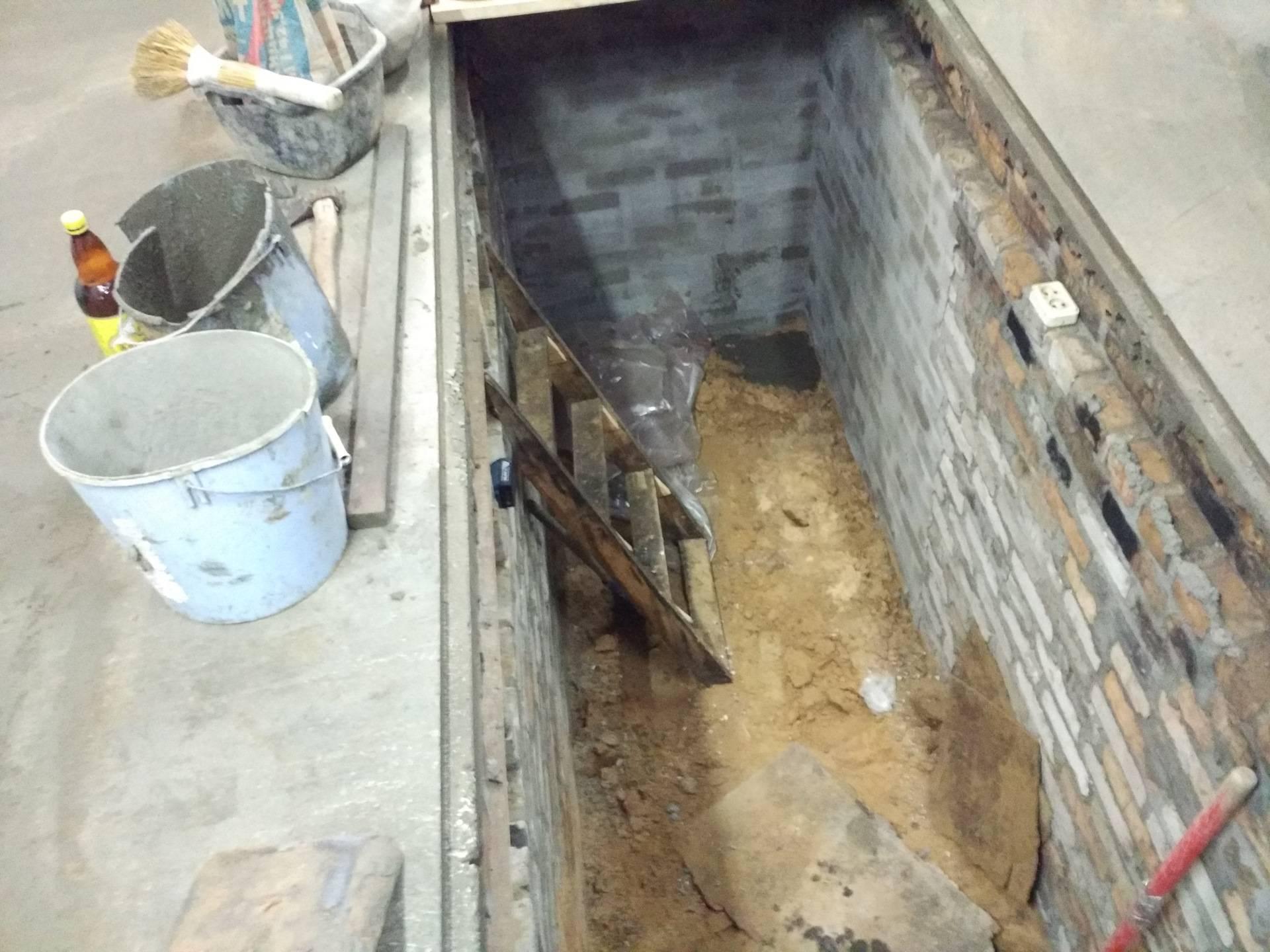 Как сделать яму в гараже своими руками - инструкция с фото и видео