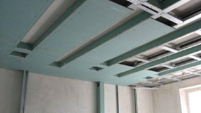 Потолок из гипсокартона в хрущевке: фото, дизайн