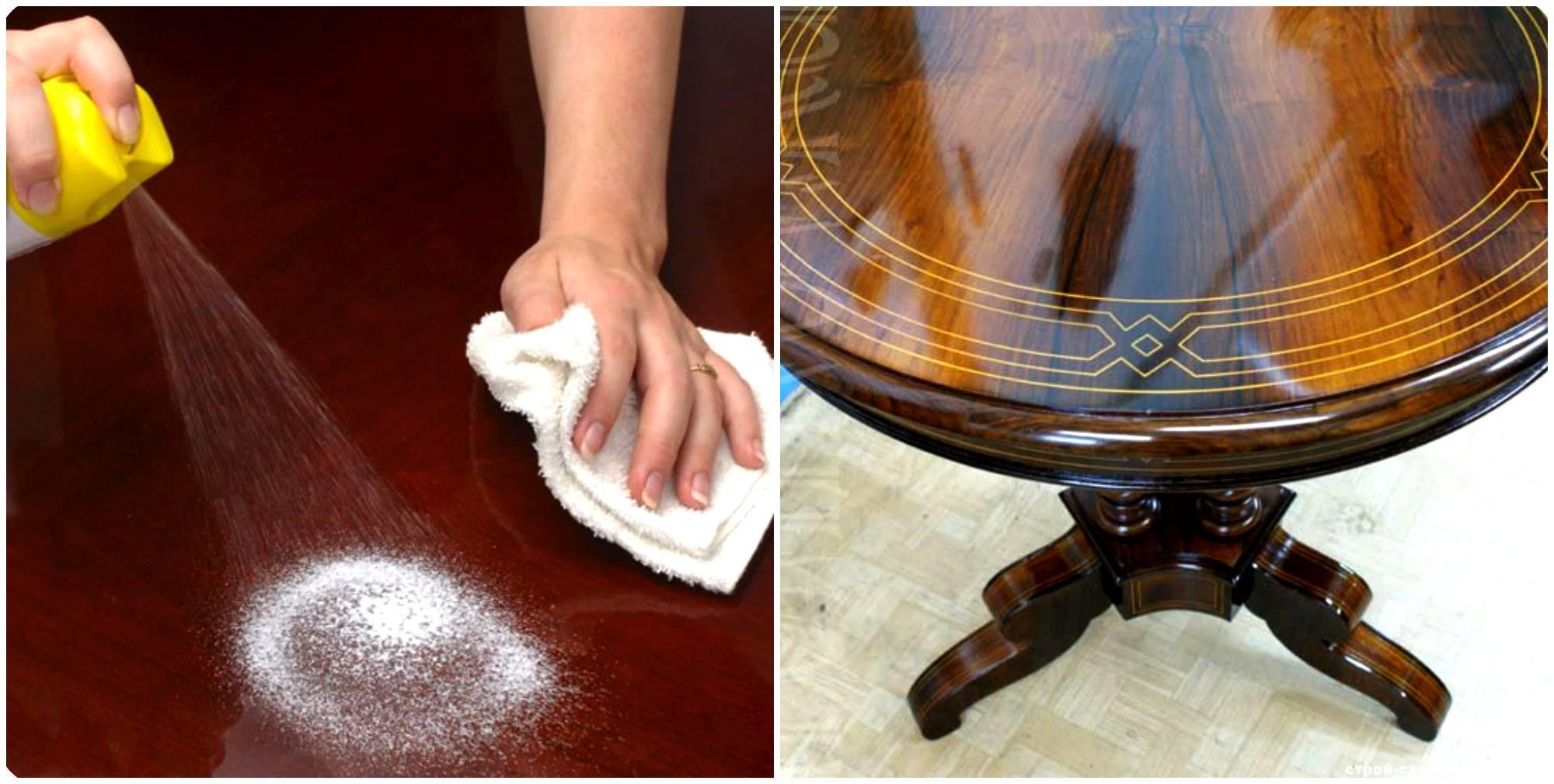 Как снять старый лак с мебели в домашних условиях: какие методы и средства можно использовать