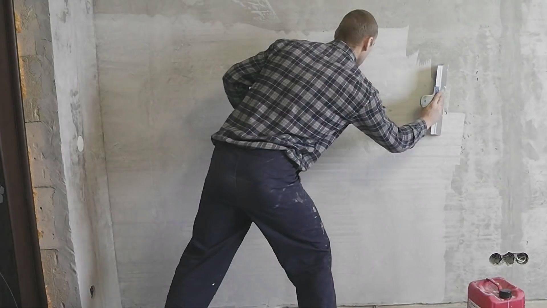 Можно ли шпаклевать гипсокартон шпаклевкой на цементной основе