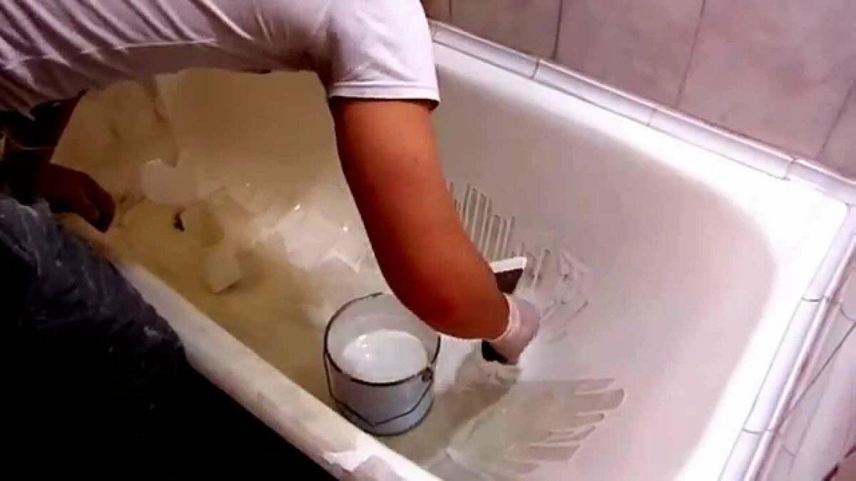 Вторая молодость: как восстановить эмаль на старой ванне своими руками