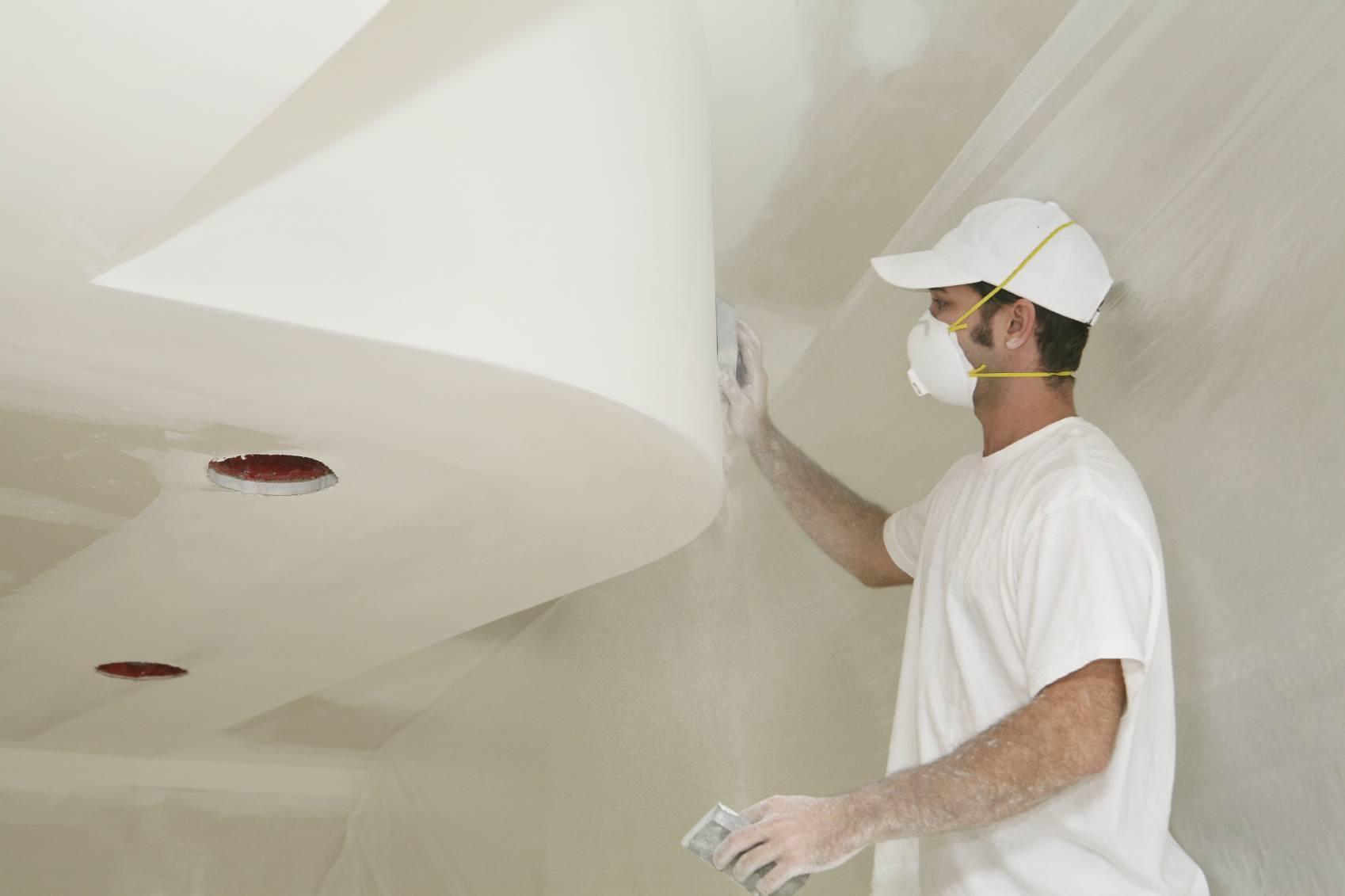 Как правильно шпаклевать потолок под покраску своими руками