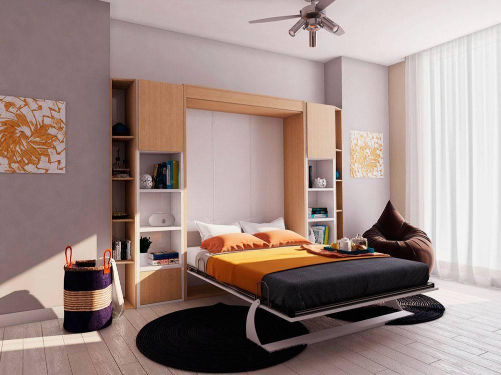 Стол трансформер в интерьере гостиной. трансформируемая мебель (35 фото)