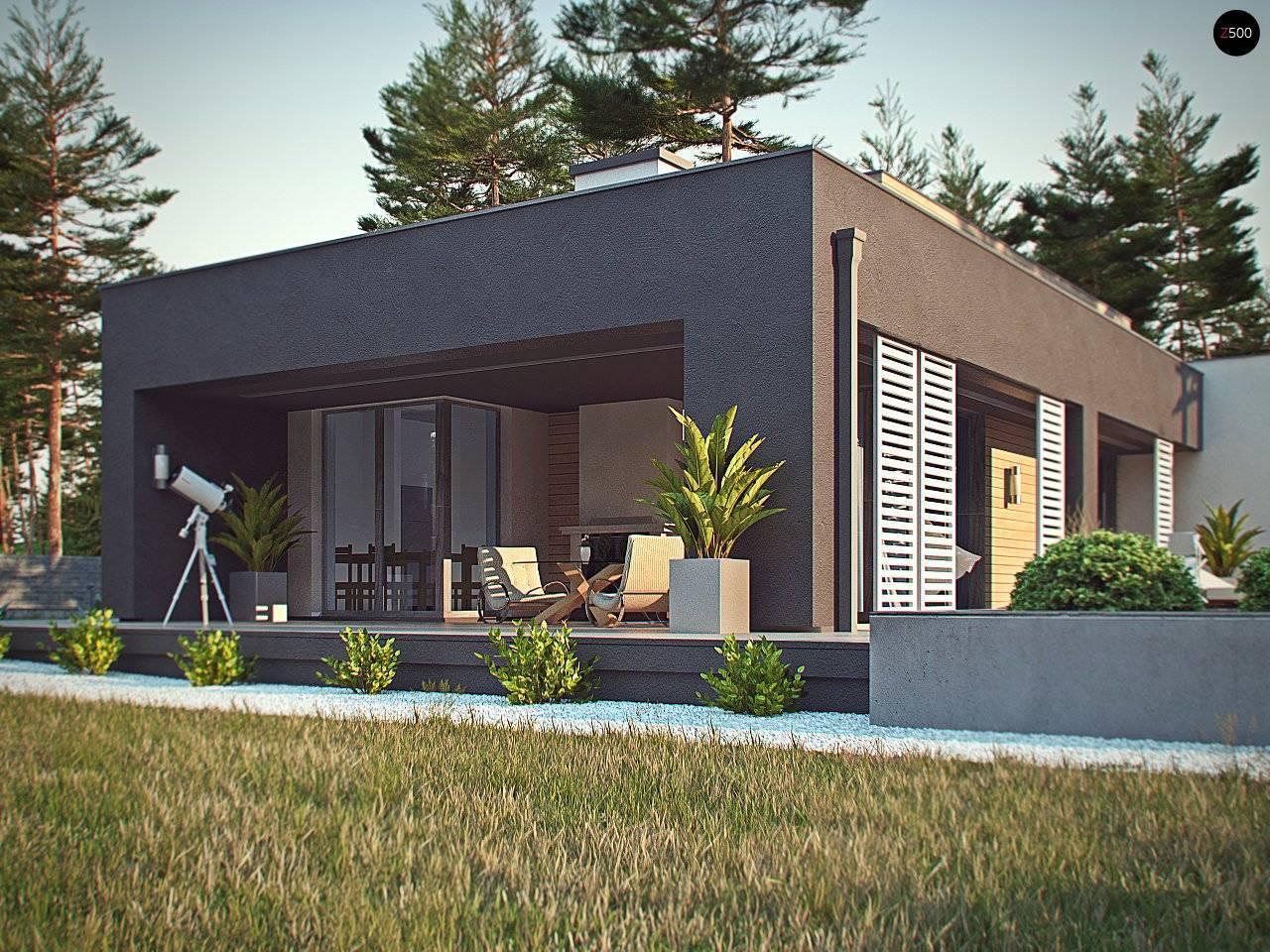 Дома в стиле «хай-тек»: (97 фото): лучшие проекты одноэтажных каркасных домов с плоской крышей