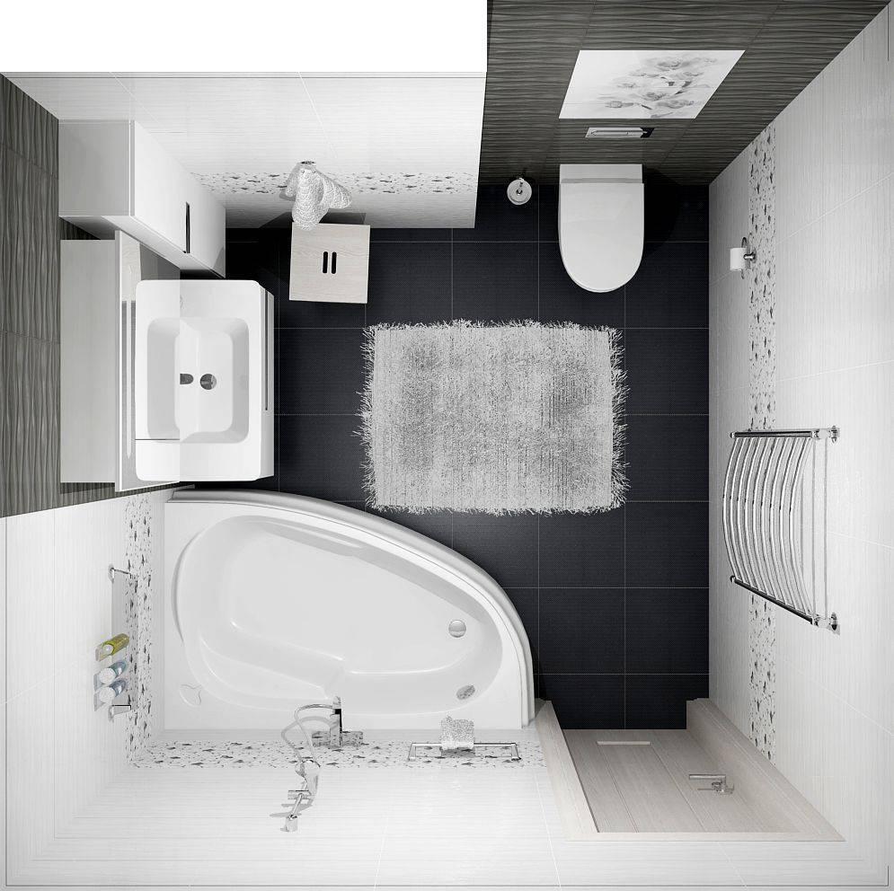 Что делать, если площадь ванной комнаты всего 2 кв. м: 6 советов по дизайну