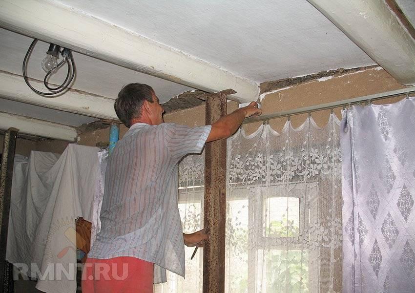 Как поднять потолок в частном доме деревянном и увеличить высоту потолка визуально