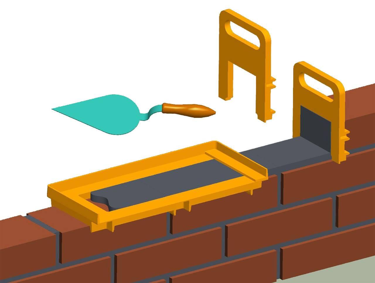 Приспособление для кладки кирпича | (фото & видео)