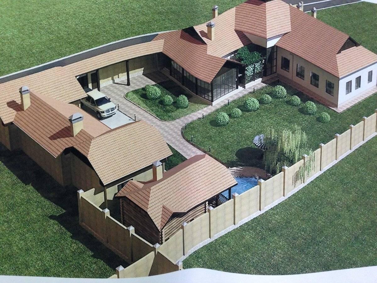 Построить дом на 3 и 4 сотках земли: можно ли