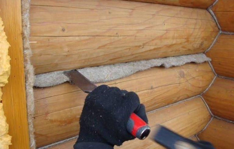 Как правильно конопатить дом из бруса и трещины в срубе - rmnt - медиаплатформа миртесен