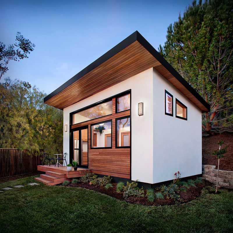 Проекты маленьких одноэтажных и двухэтажных домов эконом класса с мансардой и без нее