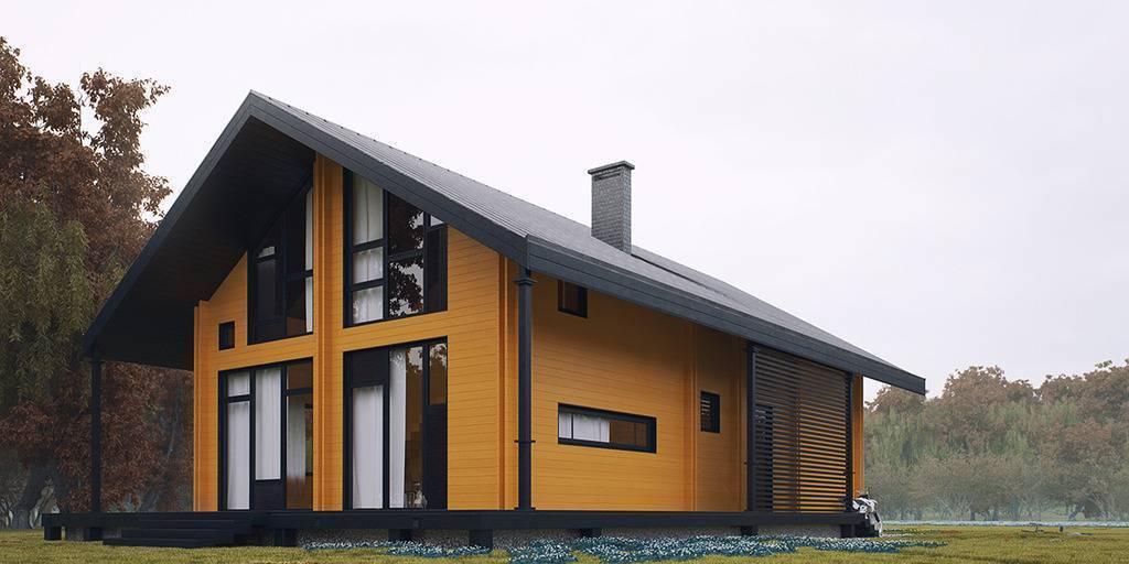 Дома из двойного бруса – технология строительства, проекты и цены