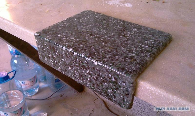 Столешница из искусственного камня своими руками. информационный строительный сайт |