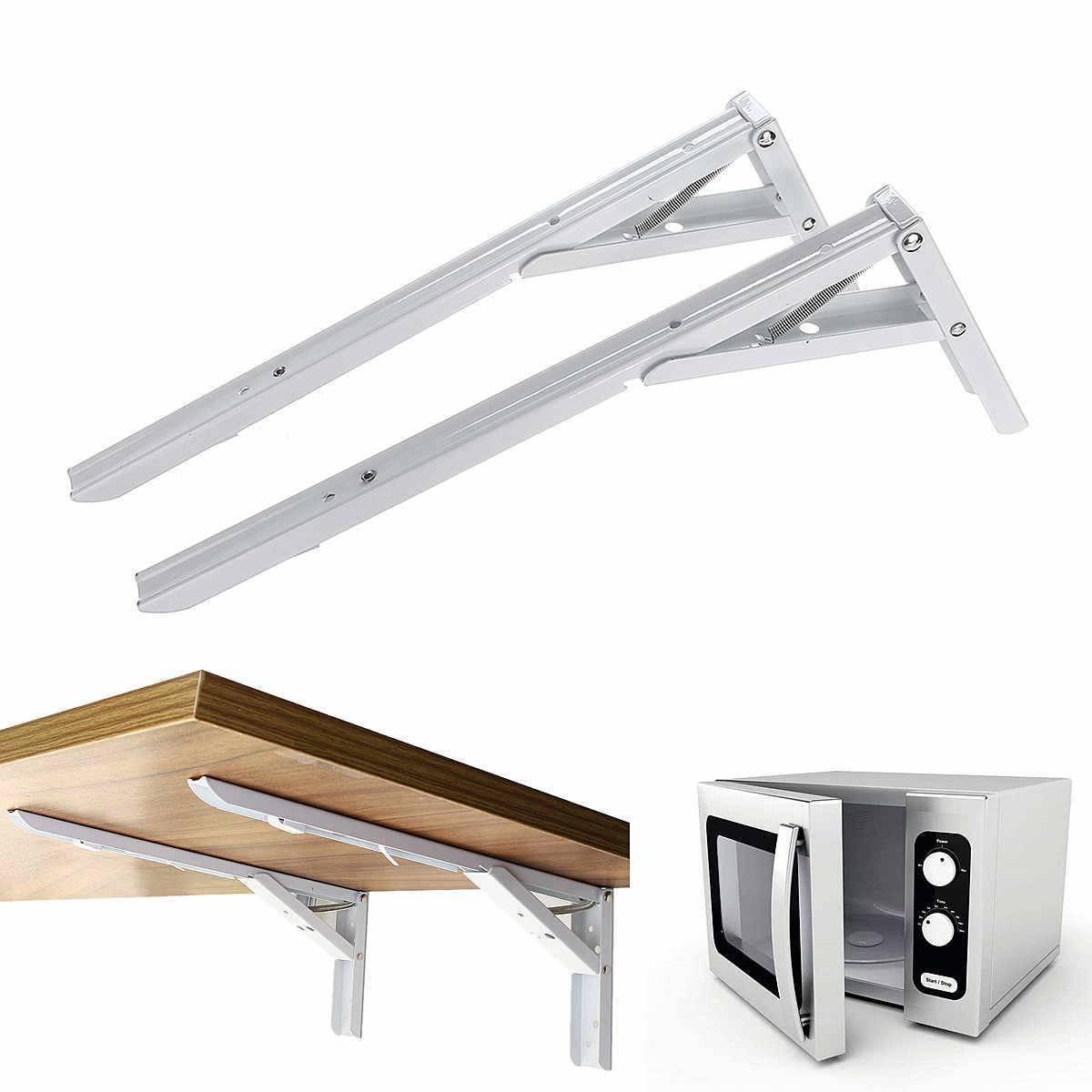 Полка для микроволновки на стену, на столешницу, передвижные, кроншетйны и подвесы