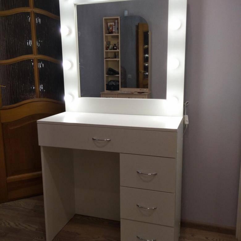 Туалетный столик с зеркалом (70 фото) - виды и модели, каталог, как выбрать