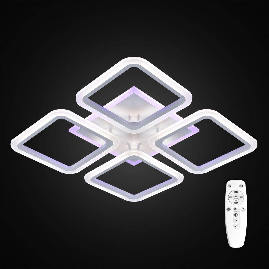 Светодиодные люстры - 95 фото лучших современных светильников