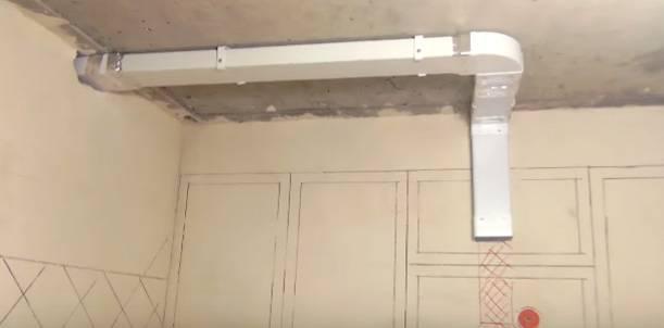 Вентиляция и вентиляционные решетки для натяжных потолков
