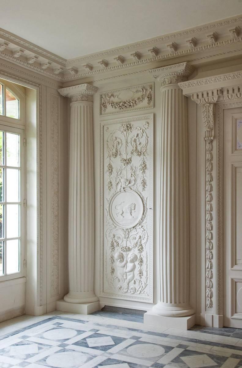 Как самому сделать лепнину на стене из полиуретана и гипса?