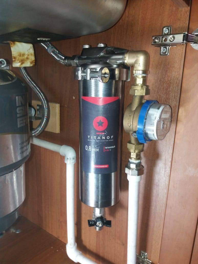 Титановый фильтр (titanof) для воды: отзывы, принцип работы, характеристики