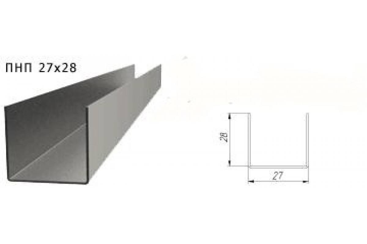 Виды и размеры профилей для гипсокартона