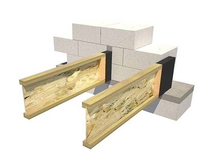 Преимущества и особенности использования деревянных двутавровых балок перекрытия