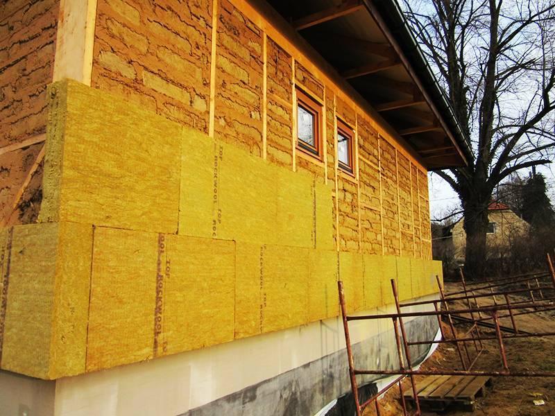Утепление фасада дома минватой своими руками ⋆ прорабофф.рф