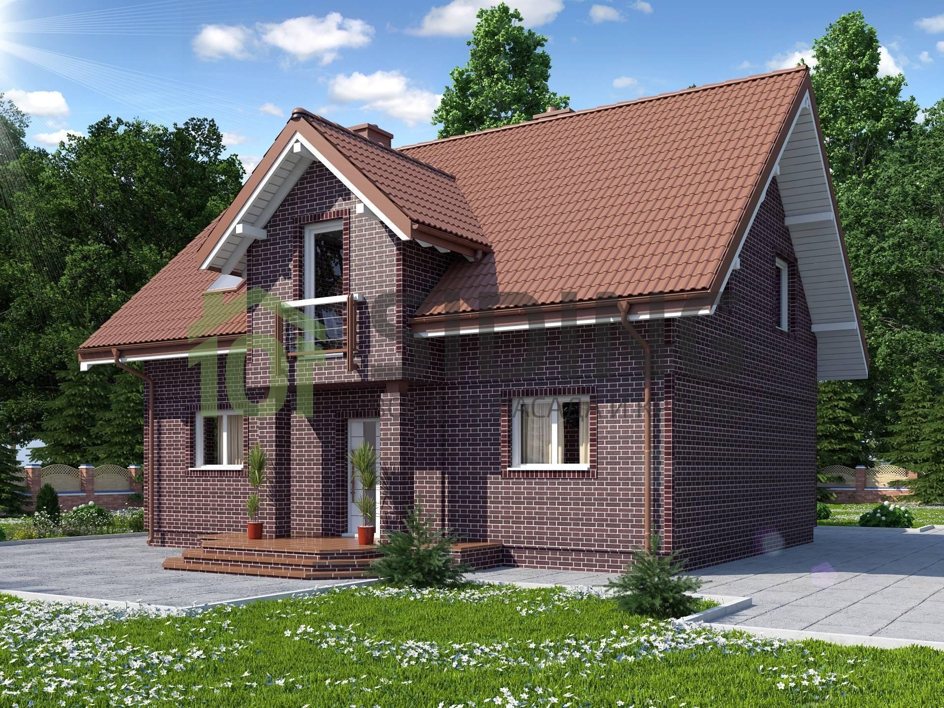 Кирпичный небольшой дом. как построить кирпичный дом: фото…репортаж и мастер-класс :)