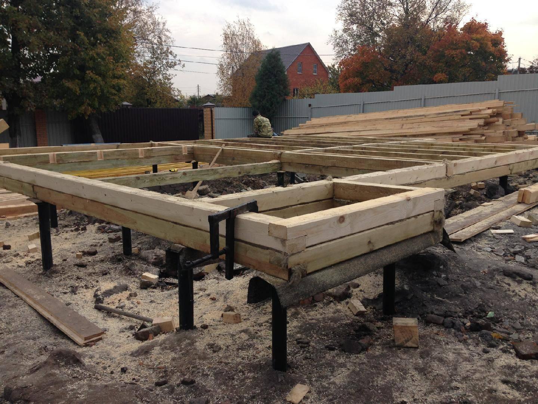 ?обвязка винтовых свай деревянным брусом: важные моменты - блог о строительстве