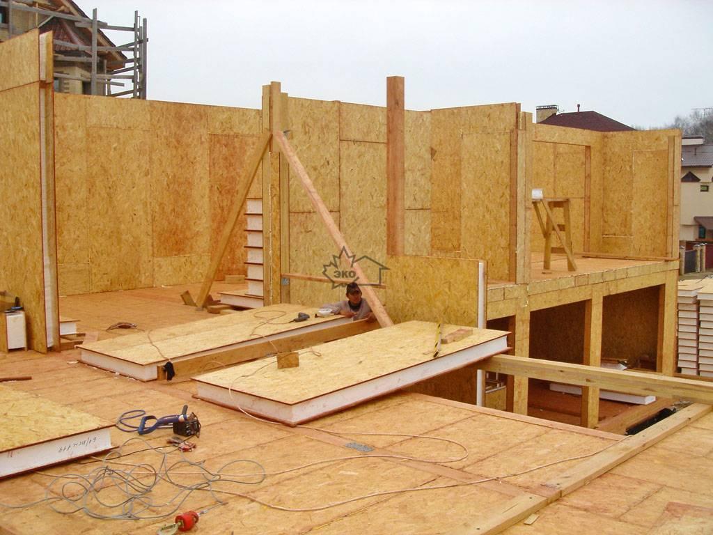 Строительство домов из сип-панелей своими руками: видео