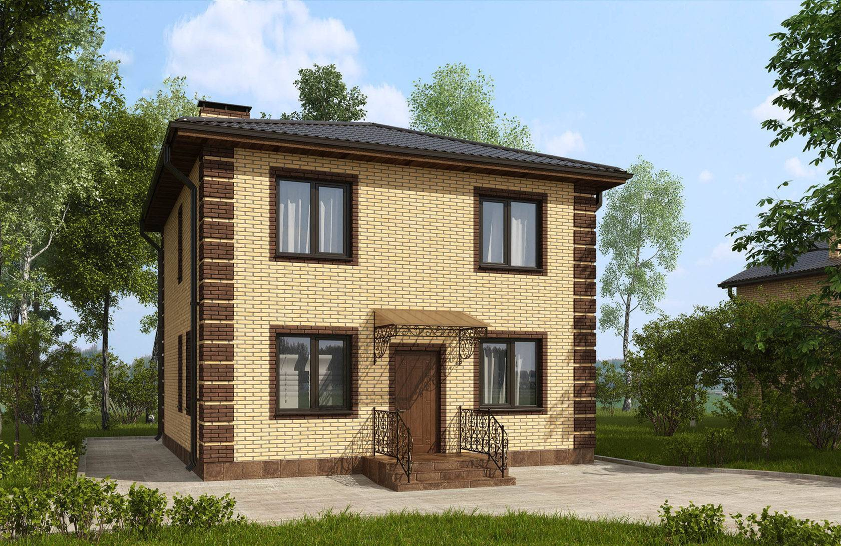 Смета на строительство дома из кирпича двухэтажного и готовый пример