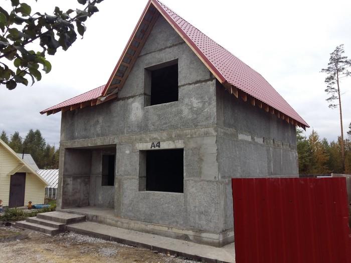 Дом из полистиролбетона своими руками