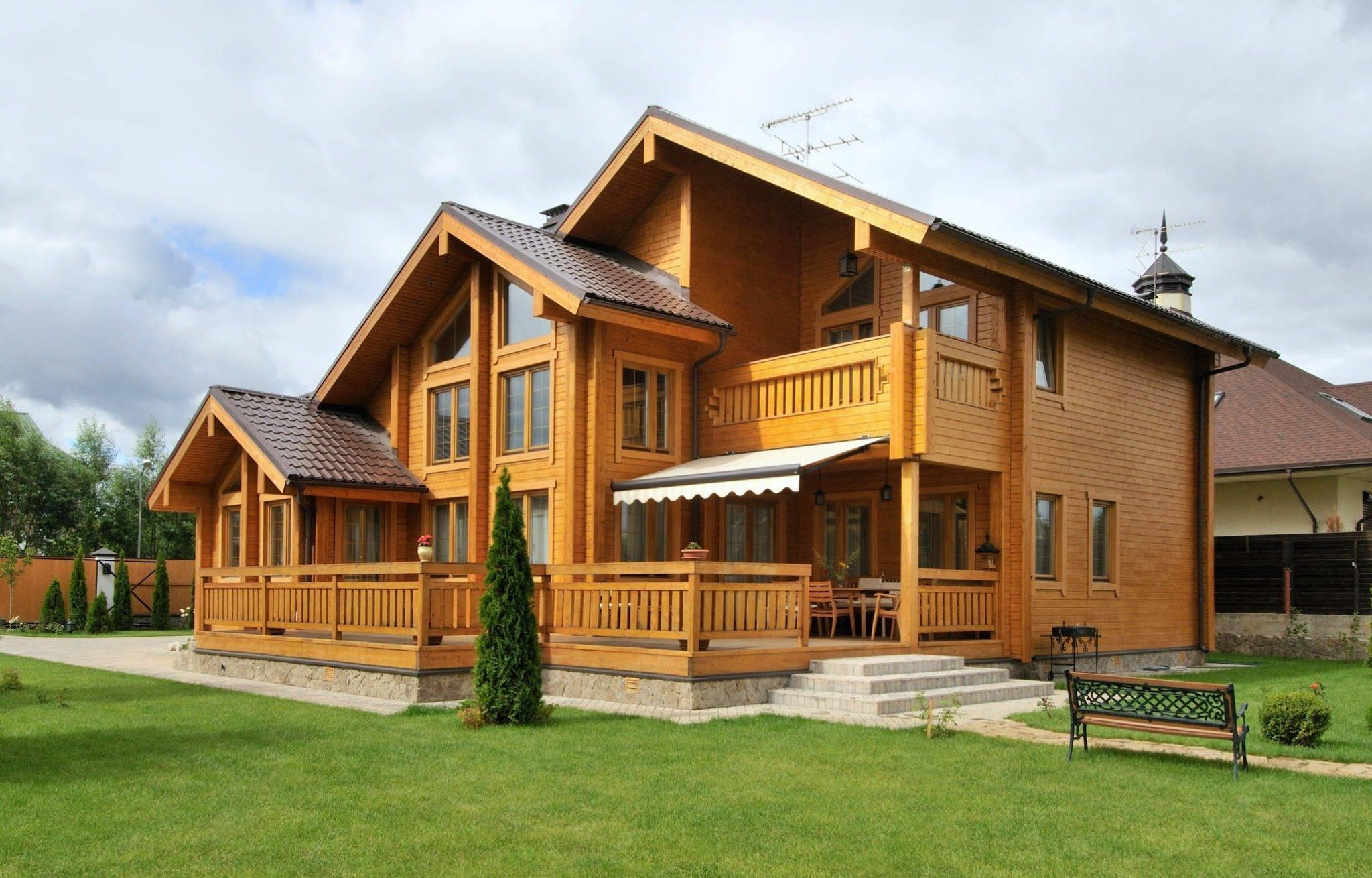 Топ 11 интересных проектов домов из бруса | строительный блог вити петрова
